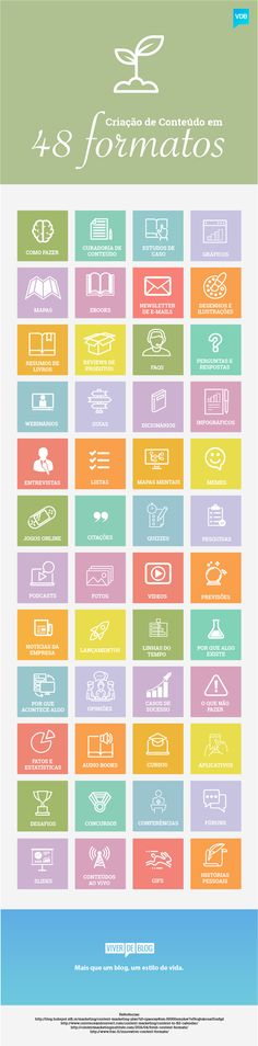 Monte um calendário editorial fora do comum e que captura o interesse da sua audiência com 48 formatos de produção de conteúdo criativo.