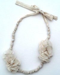 Make it yourself ~ Anthro Knock Off Akela Necklace instructions.