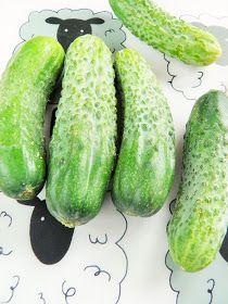 sio-smutki! Monika od kuchni: Smażone ogórki do obiadu Cucumber, Vegetables, Food, Essen, Vegetable Recipes, Meals, Yemek, Zucchini, Veggies