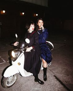 Sukeban and their girl gangs. Got this from weibo.com