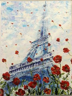 Galina Payne Paris Today Acrylics on canvas In My Feelings, I Am Happy, All Art, Finding Yourself, Give It To Me, Paris, Canvas, Acrylics, Painting