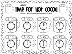 Polar Express Freebie Time to the Hour