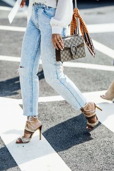 September 8, 2016  Tags Orange, Brown, White, Blue, Jeans, Nails, Gucci, Denim, Women, Prints, Monogram, High Heels, Bags, Scarves, Blouses, Rings, New York, SS17 Women's