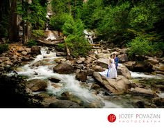 Best Award winning Vancouver wedding photographers Povazan Photography - Shannon Falls Wedding Photographer Povazan Photography: Shannon Falls Wedding Photographer Povazan Photography creates amazing everlasting adventure portraiture of bride and groom in the middle of falls. Epic experience and fearless couple who love for nature allowed them to have these stunning wedding pictures in forest. Location: Shannon Falls, Squamish BC, Canada.