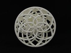 Peace Angel MIY 3D Printed Holiday Geometric Ornament by MyneMade by Etsy…