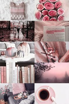 pink autumn aesthetic by skgsra