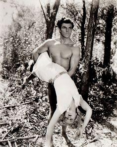 "Tarzan the Fearless (1933) Buster Crabbe as ""Tarzan""    Crabbe was stunning. *guh*"