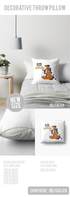 Alone With My Music Wild Fox A little clouds of delight , perfect gift ideas for your loved one (Also available in mugs, cups, shirts, duvet covers, acrylic block, purse,  wallet, iphone cases, baby onsies, clocks, floor pillows, samsung cases and pencil skirts.) #Throwpillow #Homedecor #Hugs #Gifts  #holidaygifts #pillows #floorpillow #Cushions #Redbubble #Teepublic #Popculture #Lisaliza #Fox #Music
