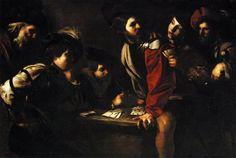 Manfredi Bartolomeo - Giocatori di carte - 1618 - Firenze - Galleria degli Uffizi