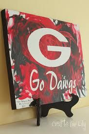 I really like this. While I'm partial to UGA, I wonder if I could swing it my way. :)