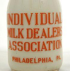 Antique Chocolate Milk Bottle 1930s by BreadnButterAntiques, $175.00