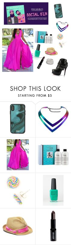 """Social Club Misfits"" by nicolefranklin ❤ liked on Polyvore featuring Sonix, philosophy, Kester Black, Vince Camuto and Lord & Berry"