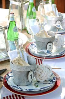 Memorial Day | Nautical Table Setting