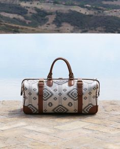 Favorite Travel Bag {this gorgeous weekender from The Little Market that is handmade by artisans in India}