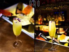 BAO Modern Chinese Bar. Divine pleasure: the Laughing Budda cocktail with a Prosecco base. #interdema #chinesecuisine #chineserestaurant #food #BAO #Kyiv #рестораны