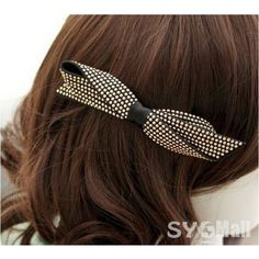 Fashionable Punk Style Bowknot Hair Clip