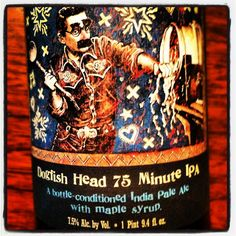 75 minutes of pleasure...Dogfish Head's 75 minute IPA is a 50/50 blend of their 60 & 90 minutes IPAs. #CRAFTBEER
