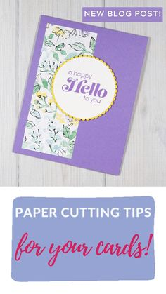 Card Making Tutorials, Card Making Techniques, Homemade Greeting Cards, Homemade Cards, Scrapbook Paper Crafts, Scrapbook Cards, Shaped Cards, Card Sketches, Flower Cards
