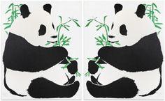 Alone (Facing East)/Alone (Facing West)  Rob Pruitt  Print  Print
