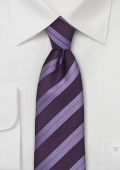 Designer Tie in Violet and Lavender-Purple