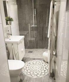 Best small bathroom remodel ideas on a budget (4) #remodelingabathroom