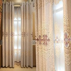 Modern Curtains, Curtain Fabric, Fabric Design, Home Decor, Diy Ideas For Home, Decoration Home, Room Decor, Interior Design, Home Interiors