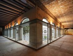 Contemporary art space in the old convent of Madre de Dios, Seville, 2014 - Sol89
