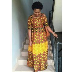 Ankara Classics ❤❤❤ Maxi Ankara Dress. # abadafashion #abadamodel #ankaralover #ankarastyles #readytowear #nigerianfashion