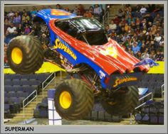 Monster Truck Picture - Superman Monster Truck