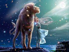 Zodiac art-Leo-by Kagaya