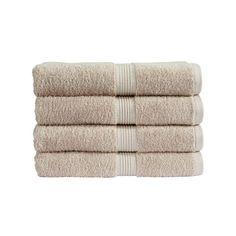 Christy Verona Towel - Latte ($6.12) ❤ liked on Polyvore featuring home, bed & bath, bath, bath towels, plush bath towels and christy bath towels