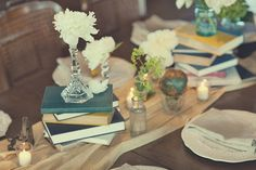 Simple & Chic Designs : WW: Flower-less wedding centerpieces!