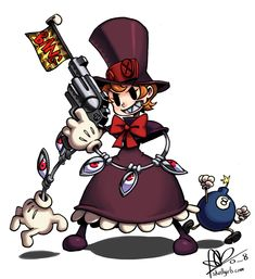 peacock from skullgirls - Google Search