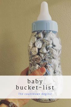 This post is my baby bucket list - essentially my to-do list for before little man comes. But no worries... there are lots of fun things on this list!