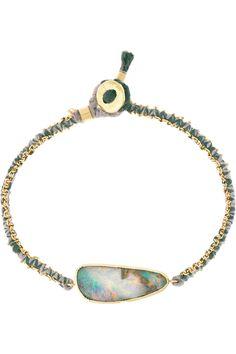 Brooke Gregson|18-karat gold boulder opal bracelet|NET-A-PORTER.COM