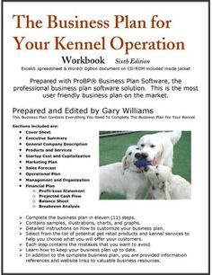 The Business Plan for Your Dog Kennel Operation @Nicole Novembrino Novembrino Novembrino Novembrino Deleon
