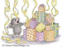 House Mouse surprise !