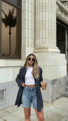 Spring Summer Fashion, Spring Outfits, Autumn Fashion, Summer City Outfits, Classy Outfits, Trendy Outfits, Fashion Outfits, Ootd Fashion, New York Fashion