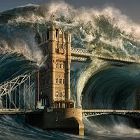 "Create a Devastating Tidal Wave in Photoshop+(via+<a+href=""http://psd.tutsplus.com/tutorials/photo-effects-tutorials/tidal-wave-photoshop/"">psd.tutsplus.com)"