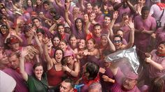 Forget running with bulls, I want to go to the Batalla del Vino in La Rioja, Spain!