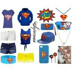 c5e2ebdb0f A fashion look from May 2013 featuring superman hoodie, graphic design t  shirts and tie crop top.