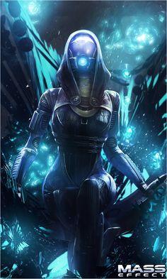 Mass Effect - Tali'Zorah V2 by TheGalliumDesigns on DeviantArt