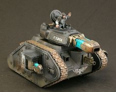 Imperial guard tank 40k