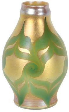 Early Tiffany Corona Vase