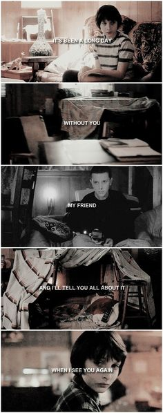 Eleven, Mike Wheeler in Stranger Things