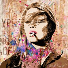 Buy Original Art and Prints from Artists Modern Art, Contemporary Art, Fine Art Prints, Canvas Prints, Brigitte Bardot, Art Portfolio, Portrait Art, Online Art, Original Art