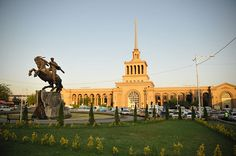 Yerevan Train Station, Armenia