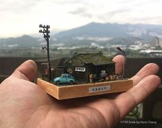 Taiwanese model maker Hang Cheng recently completed a 1/6 scale diorama of his room in staggering detail, including all his collectible toys, dirty cl...