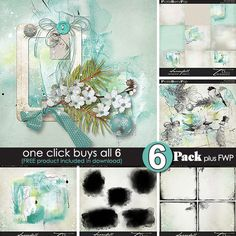 Snowfall {6-pack Plus FWP} by Tiramisu design