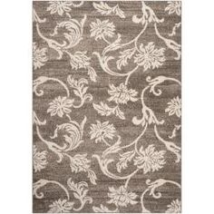 @Overstock - Woven in polpropelene, this rug features vibrant colors of elephant gray, cobble stone, parchment, jet black, putty, white. With extravagant details and a one-of-a-kind design, this rug is the perfect addition to any home.http://www.overstock.com/Home-Garden/Woven-Gray-Carno-Rug-53-x-76/6575970/product.html?CID=214117 $97.74